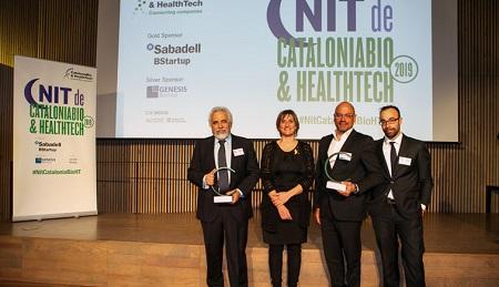 Ysios Capital recibe el Premio Bioéxito de CataloniaBio
